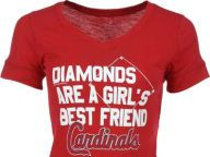 Buy St. Louis Cardinals MLB Womens Diamonds T-Shirt T-Shirts Apparel and other St. Louis Cardinals products at Lids.com