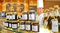Chef Tom Flavin and the restaurant's new range of pantry products