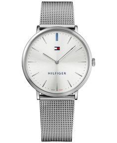 Tommy Hilfiger Men's Sophisticated Sport Stainless Steel Mesh Bracelet Watch 40mm 1781690