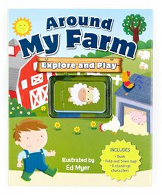 Take a look at this Around My Farm Explore & Play Board Book by World Publications on #zulily today!