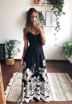 Boho Fashion, Girl Fashion, Fashion Dresses, Fashion Looks, Party Looks, Stylish Girl, Feminine Style, Casual Looks, Casual Dresses