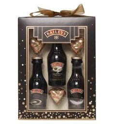 Baileys Liqueur Trio and Chocolate Hearts Gift Set - Boots