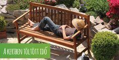 De specialist in tuinartikelen Outdoor Sofa, Outdoor Living, Outdoor Decor, Garden Furniture, Outdoor Furniture, Summer Is Coming, 2015 Trends, Outdoor Entertaining, Porch Swing