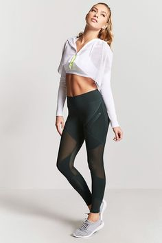 Like the leggings. Not sure what purpose the jacket thing serves. It looks annoying.  Product Name:Active Mesh-Insert Leggings, Category:BackInStock, Price:22.9