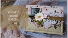 Wedding Bliss, Echo Park - Wedding mini album (smaller version for this paper collection)