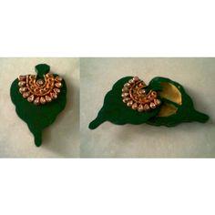 Roli-Chawal Chopda - Leaf - Online Shopping for Diwali Pooja Accessories by Zest Decor