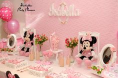 Isabella´s Minnie Birthday Party | CatchMyParty.com