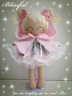 Doll Crafts, Diy Doll, Doll Toys, Baby Dolls, Homemade Dolls, How To Make Toys, Sewing Dolls, Doll Maker, Soft Dolls