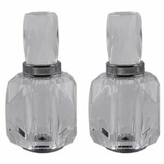 Elegantly Beautiful Crystal Salt And Pepper Shaker Set by China A5D. $45.00. Comes in a Beautiful Gift Box. Elegant Crystal Salt and Pepper Shaker Set. Highly Functional and Very Stylish. With Crystal Caps. A Set of Tasteful Salt and Pepper Shaker with Handy Crystal Caps Comes in a very Elegant Gift Box