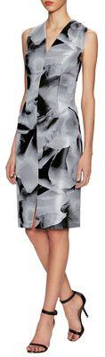 Printed V-Neck Dress - $1,099.00