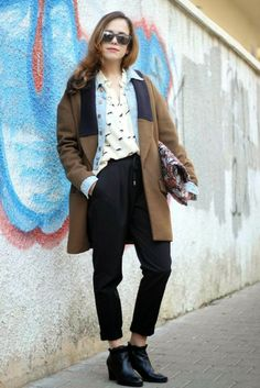 The Pisces Woman fashion blog בלוג אופנה: The bigger the better: how to style an oversized coat