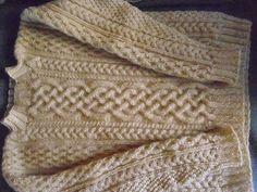 Inishturk Sweater & Tam (Sweater) pattern by Lion Brand Yarn Aran Sweaters, Cable Sweater, Knit Or Crochet, Lace Knitting, Lion Brand Yarn, Jumpers, Knitting Projects, Ravelry, Free Pattern