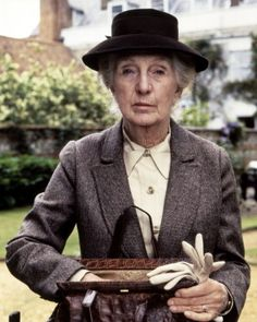 """Another favorite - Joan Hickson as """"Miss Jane Marple"""""""