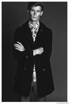 Malcolm De Ruiter Poses for New Images by Alex Evans image Malcolm De Ruiter Model 2014 Photo 002