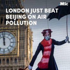London officially has more air pollution than Beijing. #news #alternativenews