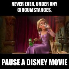 never pause a disney movie never pause a disney movie pinterest