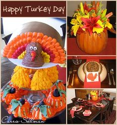 Cake recipes, cupcake recipes, DIY projects and cake decorating tutorials for Halloween, Thanksgiving and fall events. Thanksgiving Cakes, Thanksgiving Ideas, Turkey Cake, Holiday Cakes, Holiday Decorations, Happy Turkey Day, Fall Cakes, Fall Baking, Cake Decorating Tutorials