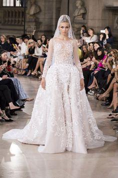 Robe de mariée haute couture Hobeika automne-hiver 2016-2017