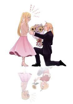 Edward & Winry - Fullmetal Alchemist