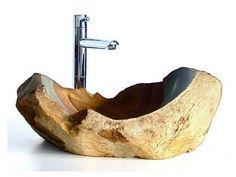 Каменная раковина.