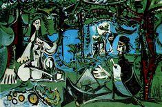 Picasso: Le déjeuner (d'après Manet) (1960)