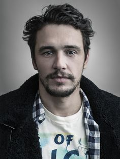 James Franco   I photographed the stars of Broadway's Of Mice and Men a couple weeks ago, really fun shoot - Dustin E. Cohen