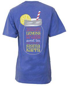Sigma Kappa | sorority www.adamblockdesign.com