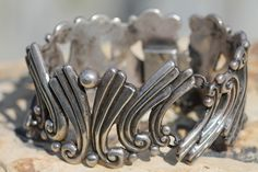 Fine old Mexican silver by Margot de Taxco.