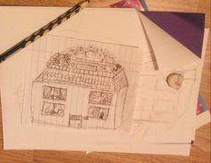 Domek jednorodzinny z ogrodem na dachu.