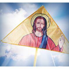 Le cerf-volant apparition Jésus !