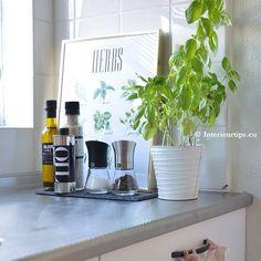 Kitchen inspiration by @interieurtips.eu   #crushgrind #kitchen #inspiration #interior #interiordesign #kala #spice #mill #salt #pepper #herbs