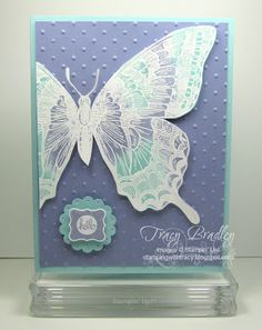 Stamping with Tracy: Swallowtail