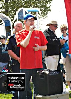 I was a true honor to have been chosen as this year Durham Region #Walk4MD Ambassador. @Muscular Dystrophy Canada