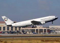 Maximus Air Cargo, Abu Dhabi, all cargo company - Airbus A300F freighter - via PJ de Jong