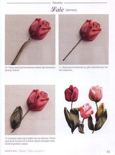 tulip tutorial, embroidery, part 2