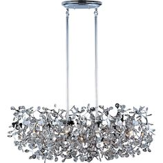 Comet 7-light Polished Chrome Island Pendant | Overstock.com Shopping - Great Deals on Maxim Lighting Chandeliers & Pendants