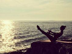 *sunset pilates* pilates can be practiced everywhere :) Pilates, Celestial, Sunset, Outdoor, Pop Pilates, Outdoors, Sunsets, Outdoor Games, The Great Outdoors