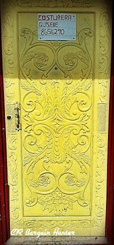 Painted wooden door, Zarcero Wooden Doors, Costa Rica, Wood Working, Painting, Home Decor, Woodworking, Decoration Home, Room Decor, Painting Art