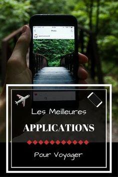 Applications mobiles pour voyager_ notre sélection des meilleures apps pour iPhone et Android à avoir avec soi pour partir en voyage. #mobile #apps #voyage #voyageursdumonde