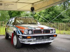 Martini Racing Lancia Delta HF Intergrale.