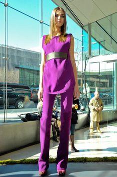 Rachel Roy at New York Fashion Week Fall 2012 - Livingly