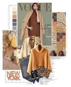 """""""Hope"""" by color-me-red ❤ liked on Polyvore featuring Chicnova Fashion, Elizabeth and James, Clare V., Yves Saint Laurent and Dot & Bo"""