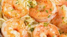 Shrimp Alfredo Recipes Easy Shrimp Alfredo recipe made with homemade Alfredo Sauce, fettuccine, and juicy Parmesan Coasted Shrimp. This is such a comforting family dinner and it's re. Easy Shrimp Alfredo Recipe, Easy Shrimp Scampi, Shrimp Pasta, Shrimp Recipes, Fish Recipes, Pasta Recipes, Recipies, Shrimp Dip, Lobster Recipes