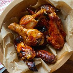 Slow-Cooked Cola Wings These no-fuss, cola-infused wings will be a huge hit at your next football party.