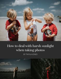 How to Deal with Harsh Sunlight When Taking Photos