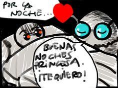 """Después de un día de compras Pollito ha de meditar sobre lo que significan las palabras """"te quiero"""""""