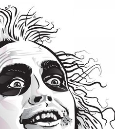 beetlejuice drawing - Google Search
