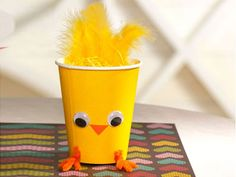 Adorable Chick Craft.