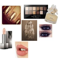 The gold lush by makeupgirl3 on Polyvore featuring polyvore, beauty, Burberry, Charlotte Tilbury, Maybelline and Marc by Marc Jacobs