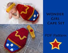 Wonder Woman Baby Set - Barbara better hope to God that she has a boy!